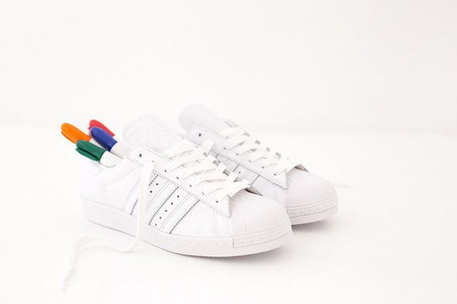 Adidas Superstar 80S Gonz White 3