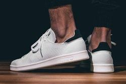 Adidas Stan Smith Primeknit Blak White Bumper Thumb