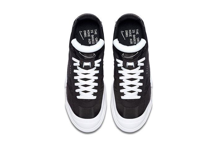 Nike Drop Type Lx Black White Av6697 003 Release Date Top Down