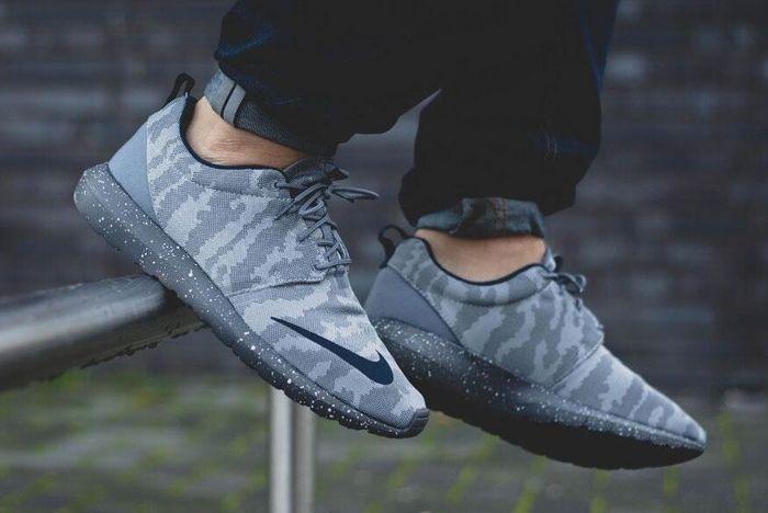 Nike Roshe Nm Fb Grey Camo 7