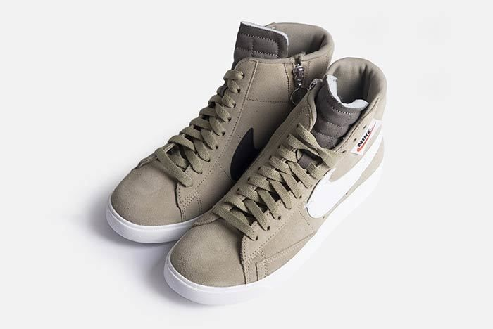 Nike Blazer Mid Rebel Womens Olive Bq4022 201 1