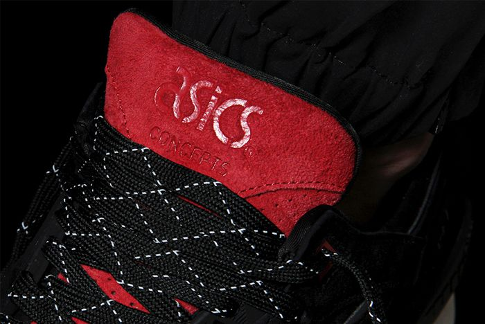 Concepts X Asics Black Widow 4