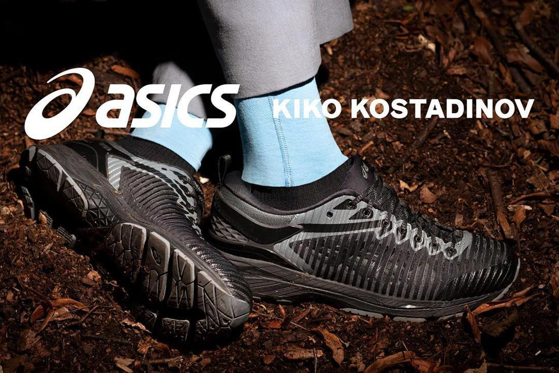 Kiko Kostadinov X Asics Black Asics Edition Gel Delva Sneakers