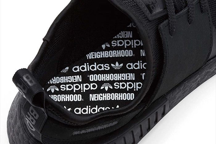 Adidas Neighborhood Nmd Triple Black 1