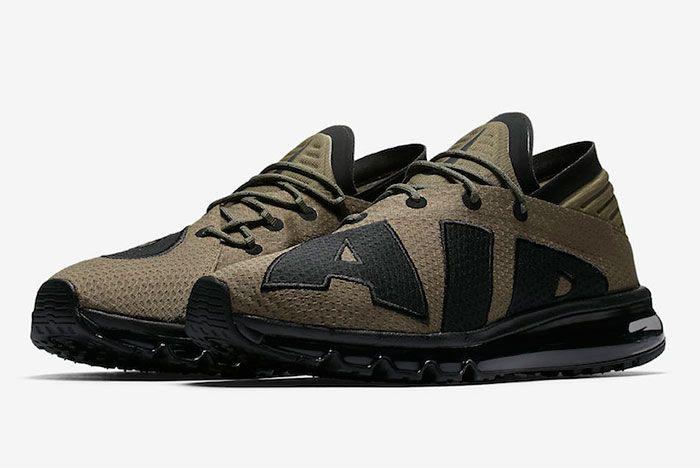 Nike Air Max Flair Medium Olive Black