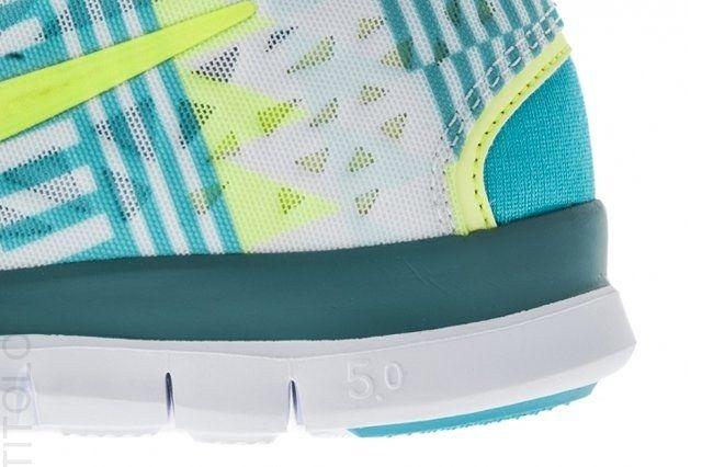 Nike Free Tr Fit Summit White Detail