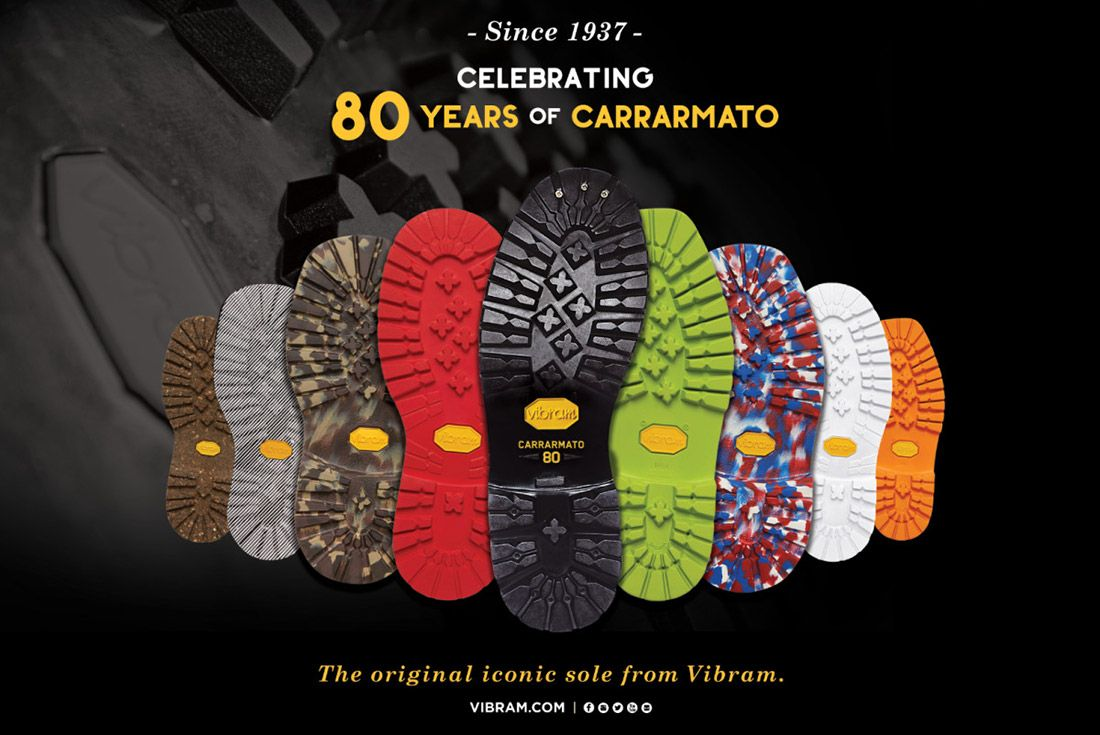 Vibram Carrarmato 80th Anniversary
