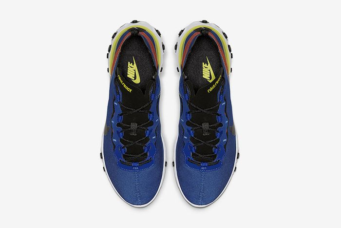 Nike React Element 55 Game Royal Bq6166 403 Release Date Top Down
