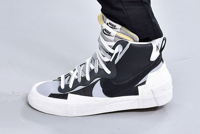 Sacai X Nike Paris Blazer Mid Fw19 Sneaker Freaker1