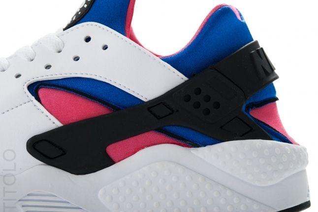 Nike Huarache Og Retro Pink Blue Upper 1