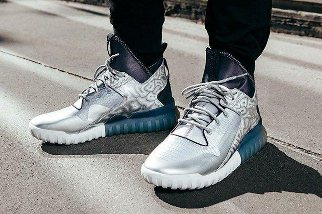 Adidas Tubular X Hype Edition Metallic Silver Thumb
