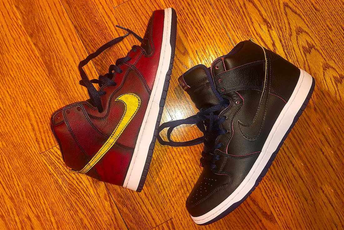 Nba Nike Sb Dunk High Release