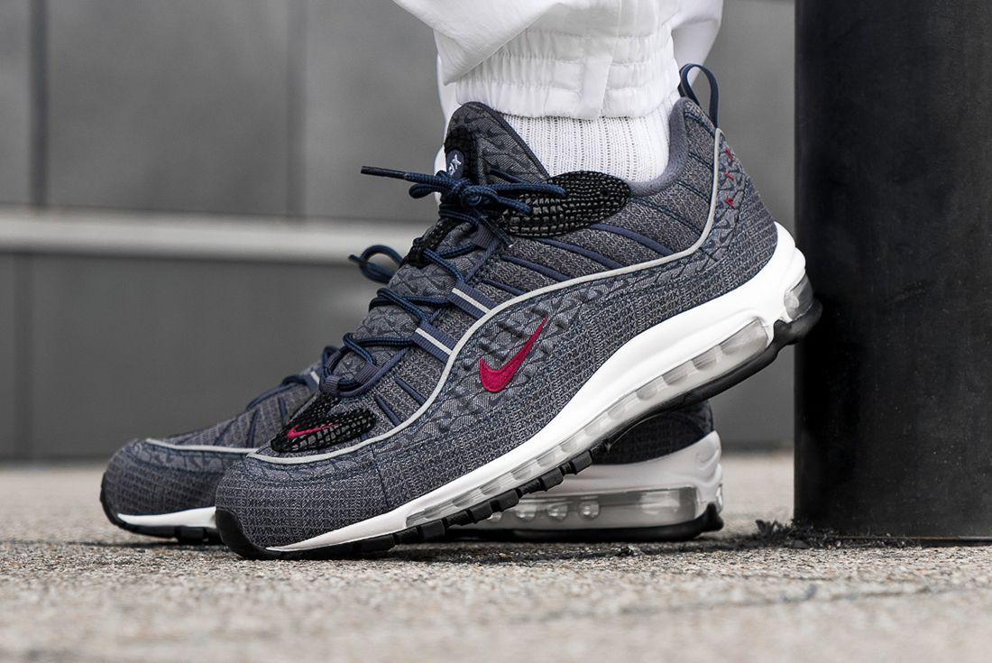 Nike Air Max 98 Thunder Blue Sneaker Freaker 2
