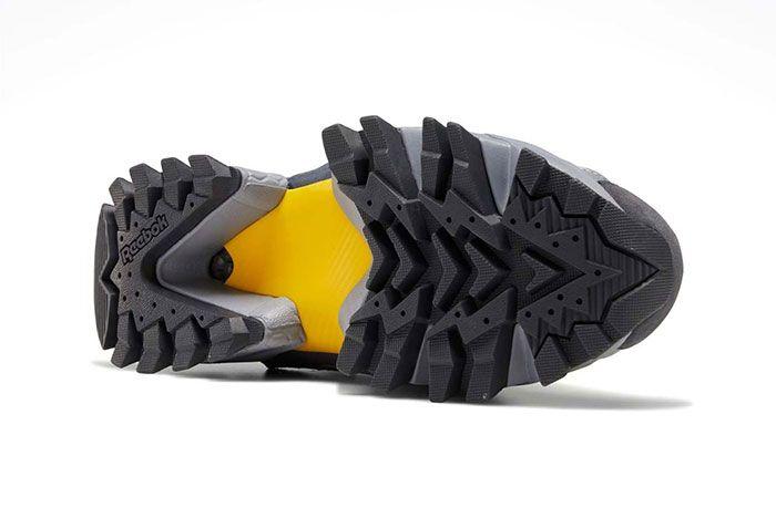 Reebok Instapump Fury Trail Shroud Yellow Sole