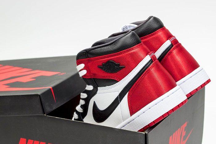 Air Jordan 1 Black Toe Satin New Release Date