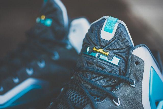 Nike Lebron 11 Gamma Blue Bump 3