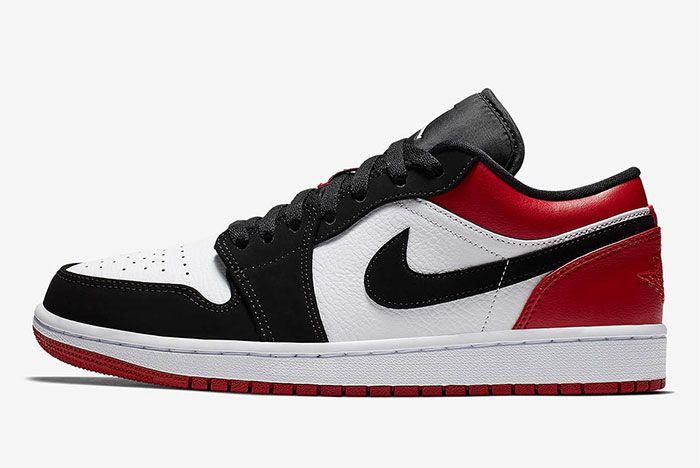 Air Jordan 1 Low Black Toe 553558 116 6