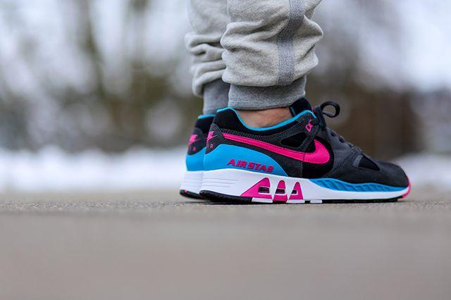 Nike Air Stab Black Teal Pink 4