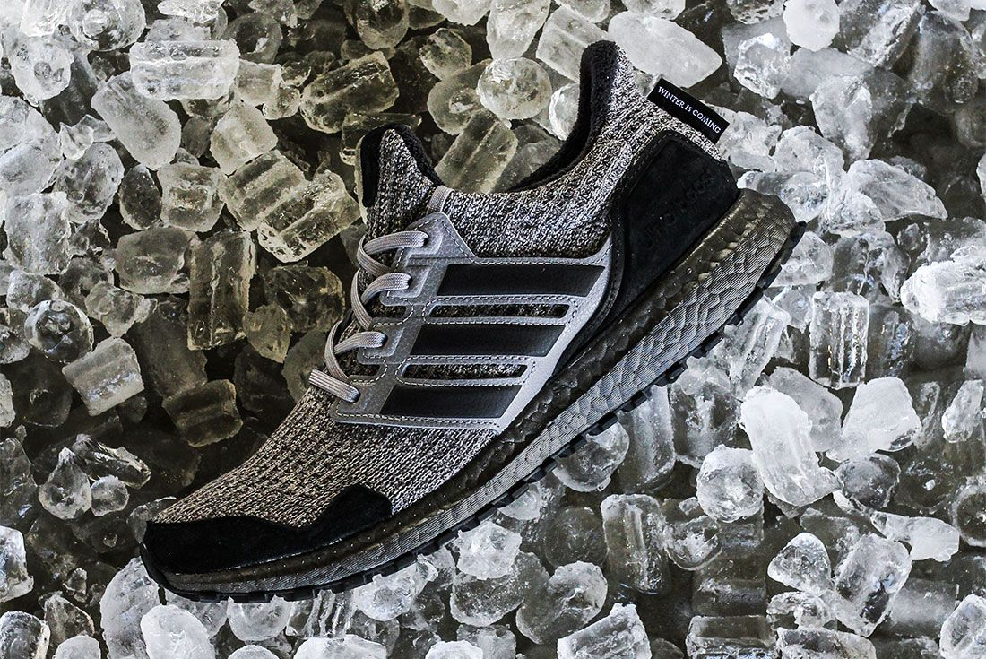 Game Of Thrones Ultra Boost All Black Side