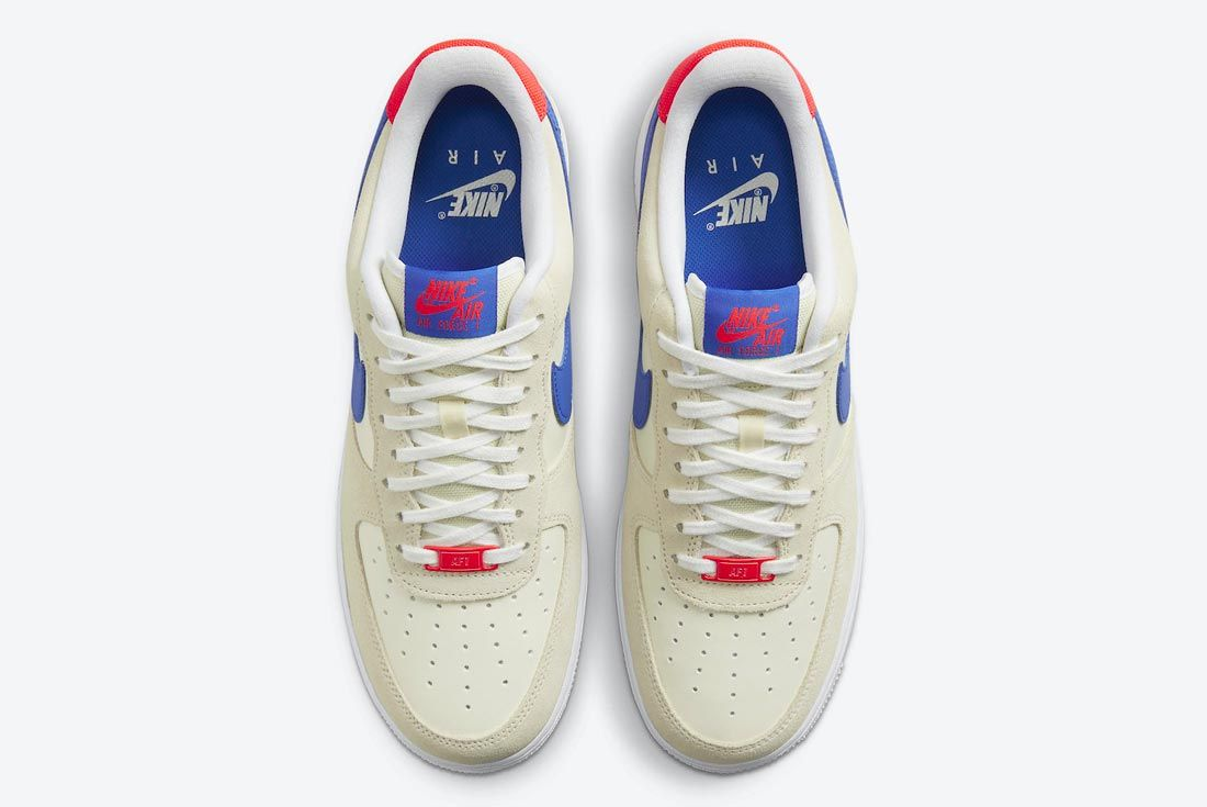 The Nike Air Force 1 Goes Red, White and Blue