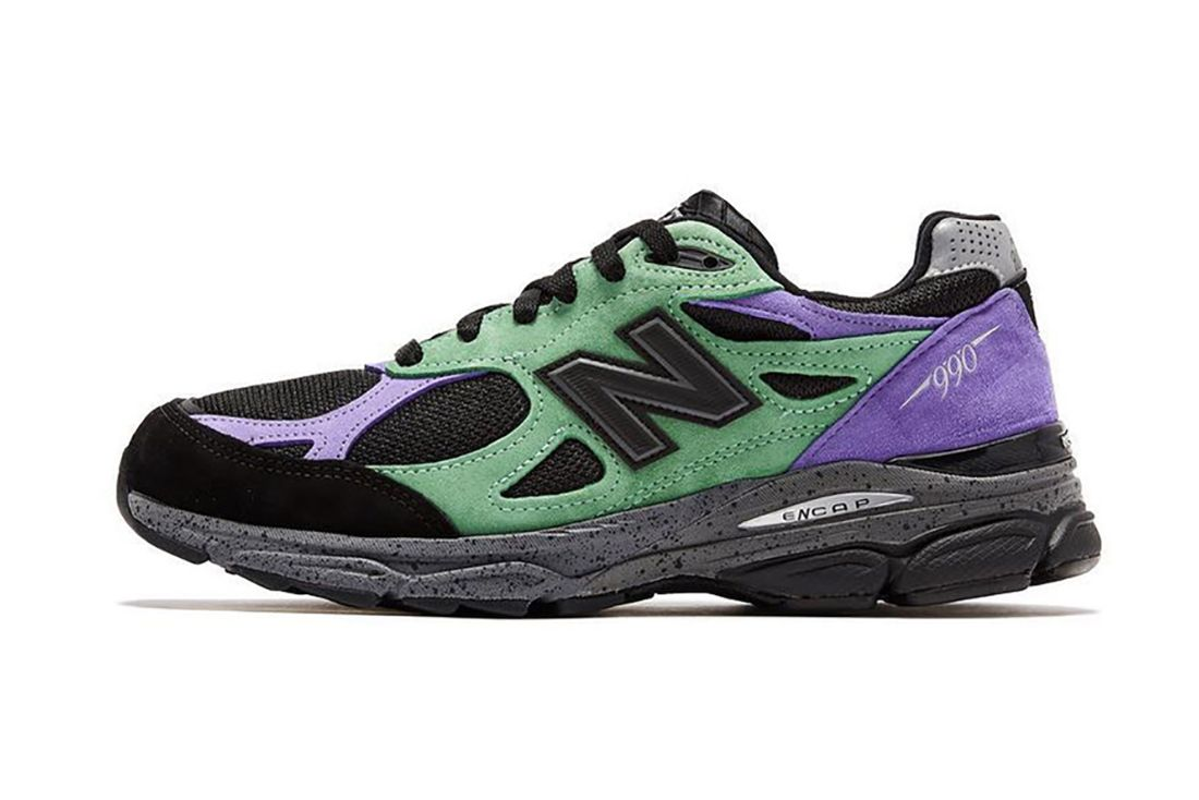 Stray Rats New Balance 990V3 Alternate Lateral