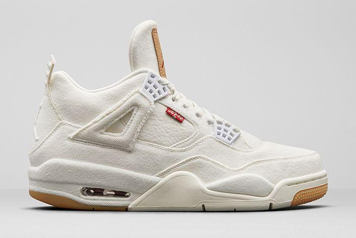 Jordan 4 Levis White Gum 2