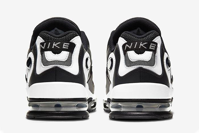 Nike Metal Max Black White Heel