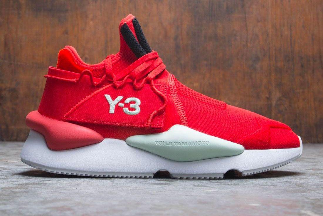 Adidas Y 3 Kaiwa Knit Red Right