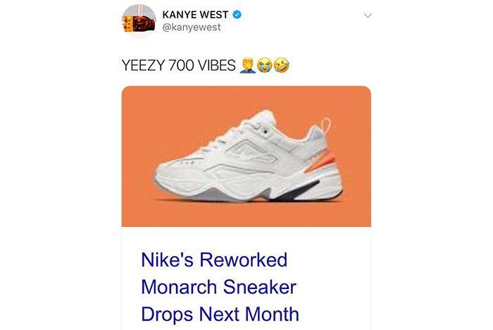 Kanye West Nike M2K Tekno Yeezy 700