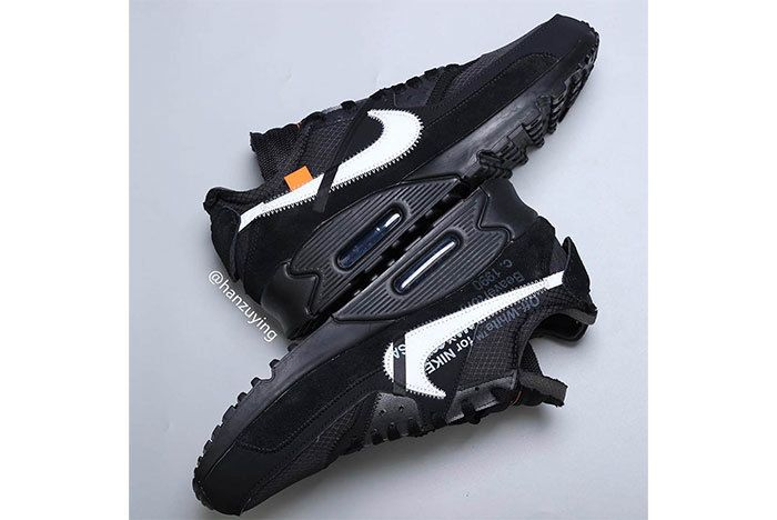 Off White Air Max 90 Black White Release Info 11