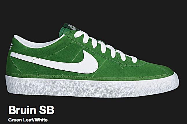 Nike Green Leaf Bruin Sb 2010 1