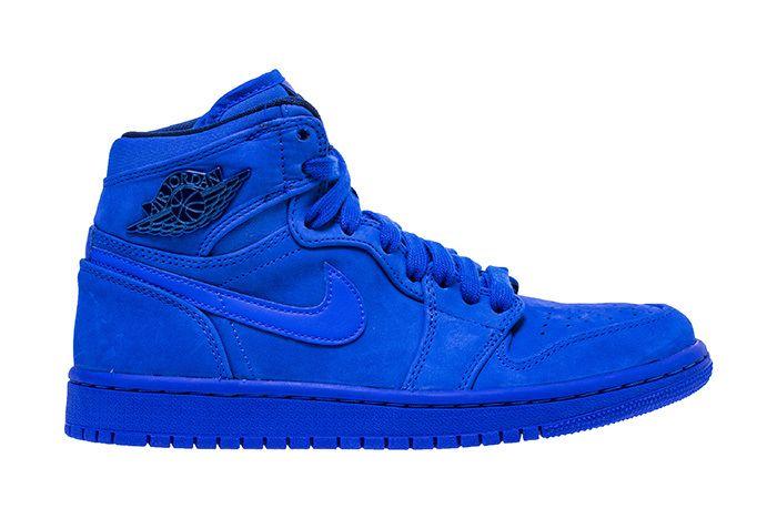 Air Jordan 1 Blue Suede 1