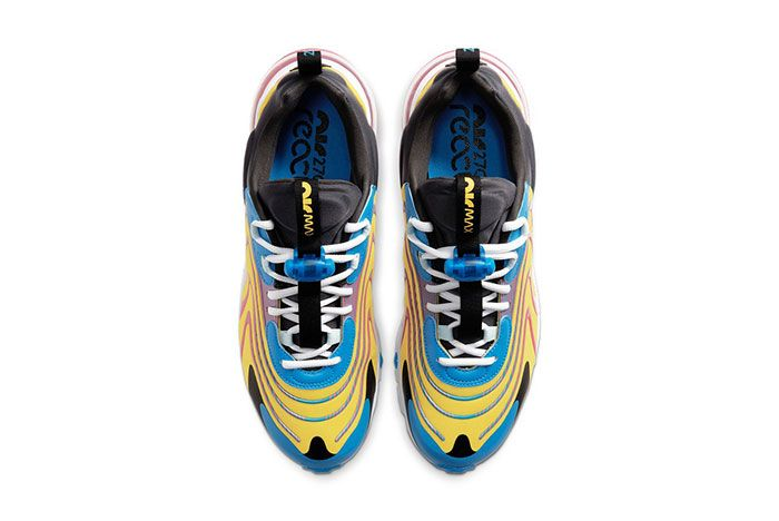 Nike Air Max 270 React Eng Laser Blue Cd0113 400 Top