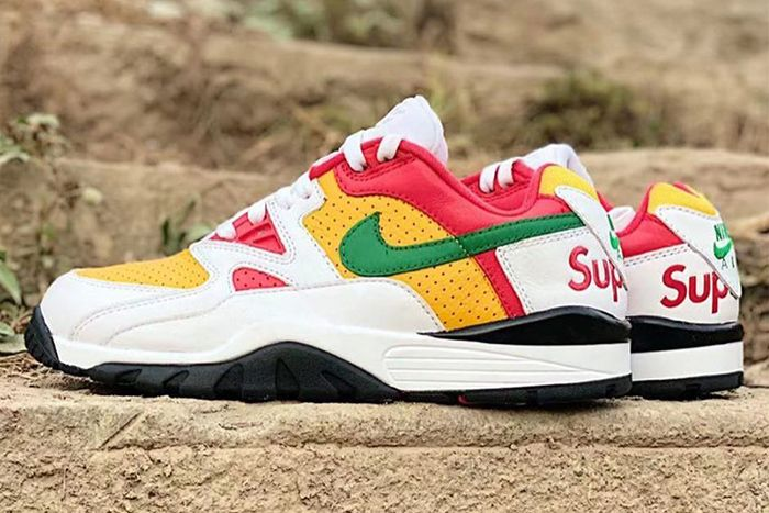 Supreme Nike Air Cross Trainer Iii Low White Pine Green University Gold Leak Release Date Instagram