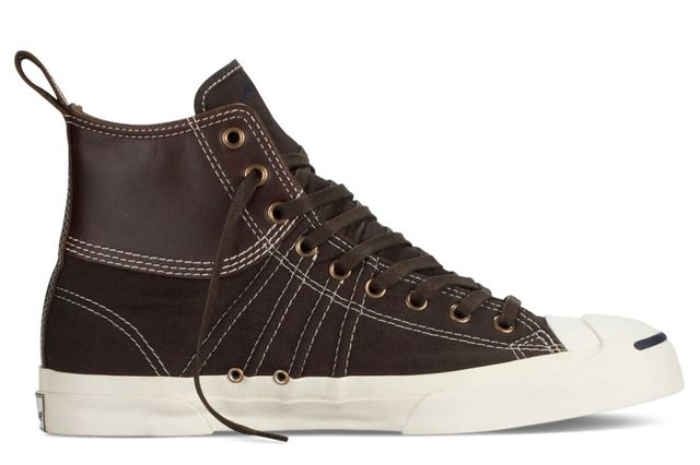 Converse Jack Purcell Duck Boot Brown