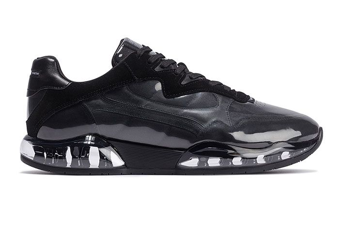 Alexander Wang Stadium Sneaker Black Right Side View