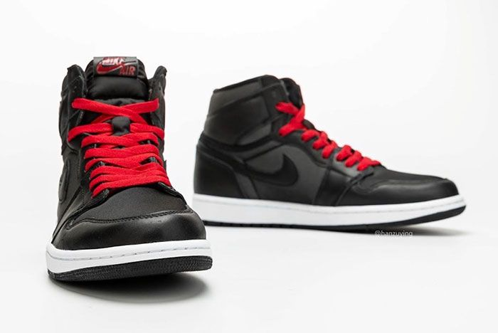 Air Jordan 1 Satin Black Gym Red 555088 060 Release Date 7