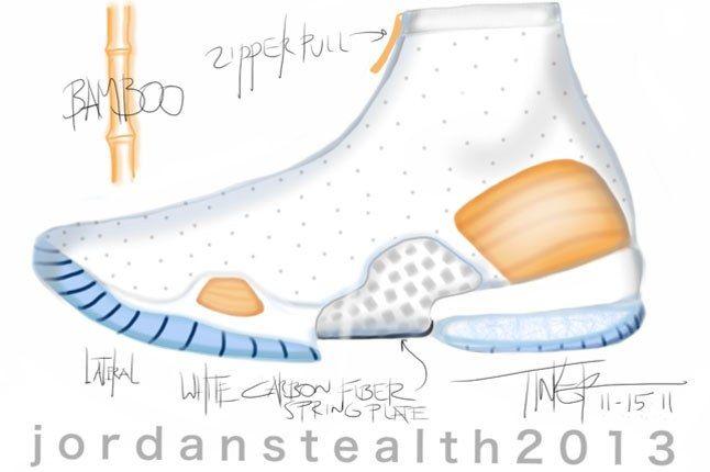 Air Jordan 2013 Sketch 1