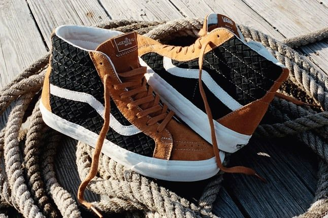 Dqm For Vans Wovens Collection Sk8 Hi Holiday 2012 Rop 1