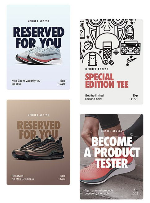 césped Durante ~ Finanzas  Get the VIP Shopping Experience With NikePlus Unlocks - Sneaker Freaker