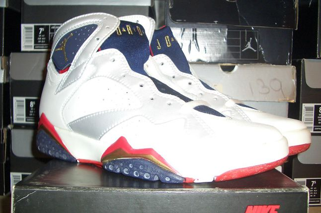 Rebecca Dahms Wmns Basketball Collection Air Jordan 7 Olympic Og 1