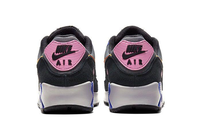 Nike Air Max 90 Persian Violet Heel 2