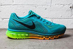 Nike Air Max 2014 Turbo Green Atomic Mango Thumb