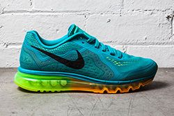 Nike Air Max 2014 Turbo Green Atomic Mango Thumb