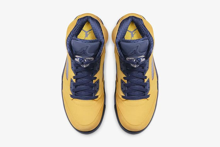 Air Jordan 5 Michigan Top