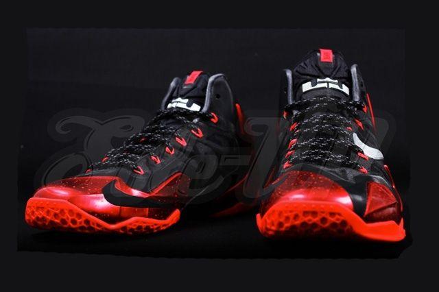 Nike Lebron 11 Miami Heat Away 1