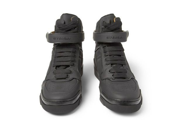 Givenchy Leather0High Top Sneakers 1