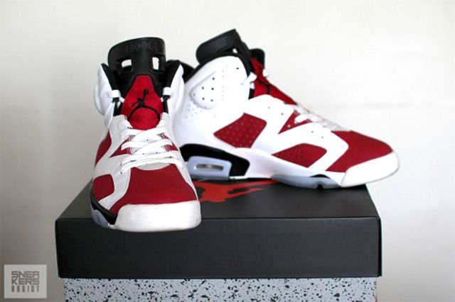Air Jordan 6 Carmine 2014 Retro 4