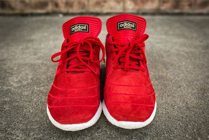 Adidas Busenitz Pure Boost Red1