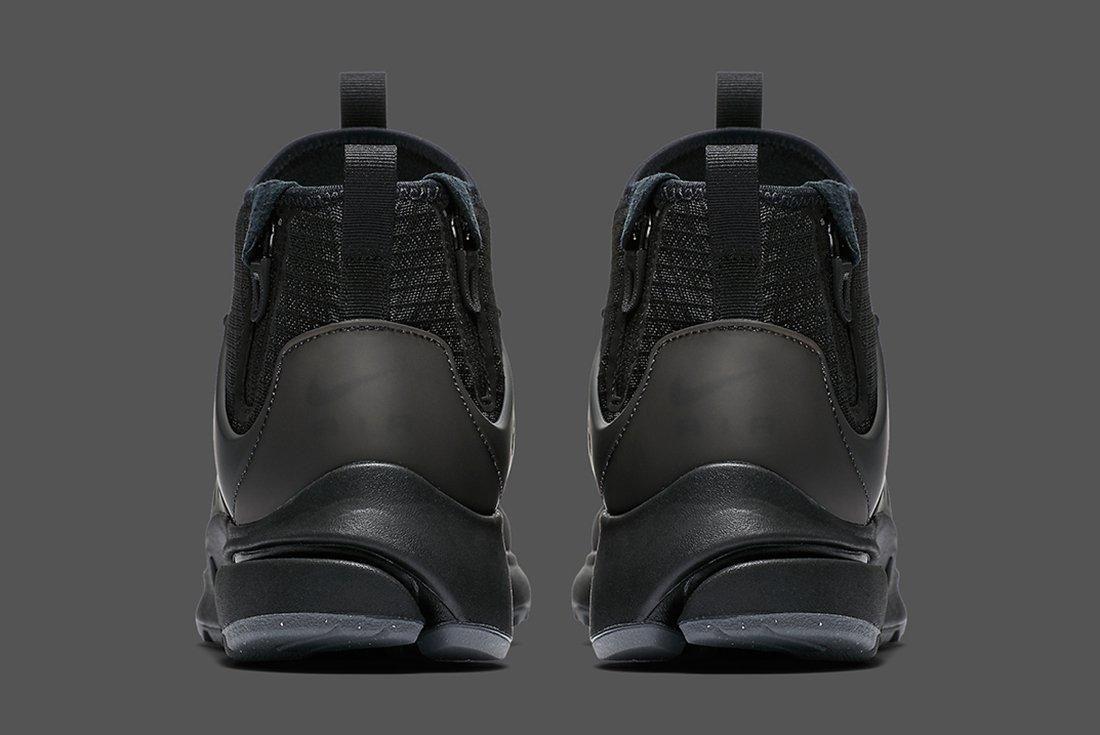 Nike Air Presto Mid Utility Triple Black 1